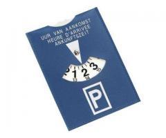 Een parkeerschijf nodig?