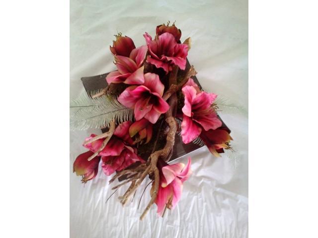 Zijde bloemen en bloemstukken